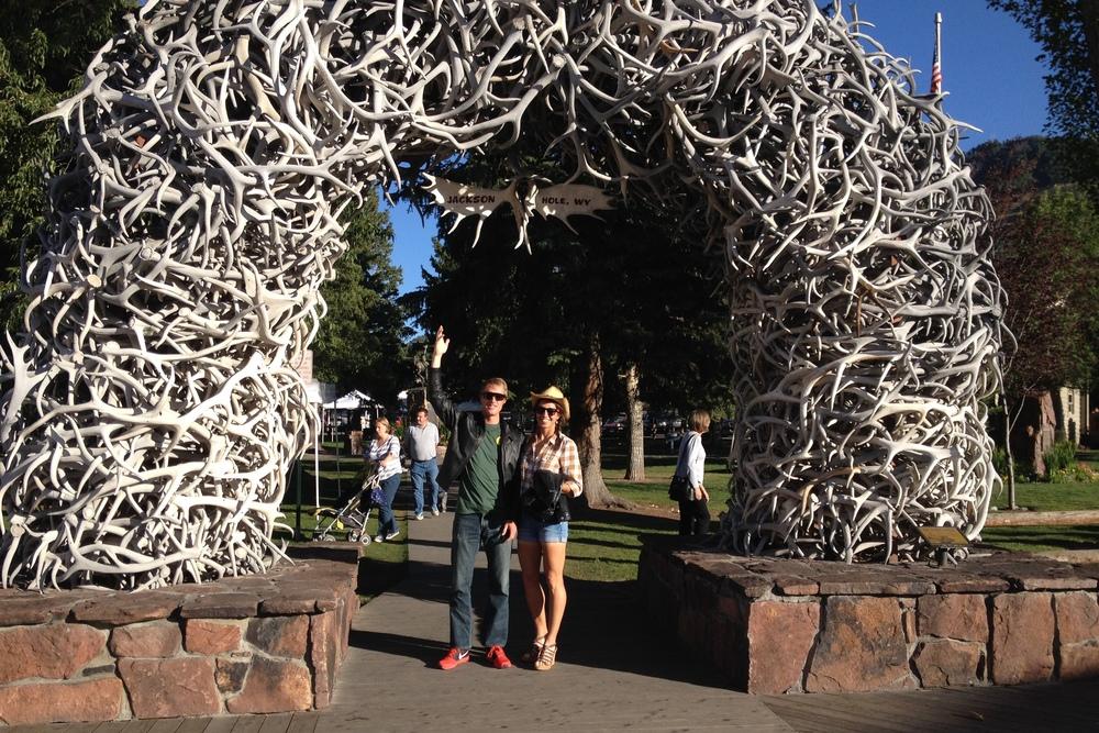 Elk Horn Arch, Jackson, WY