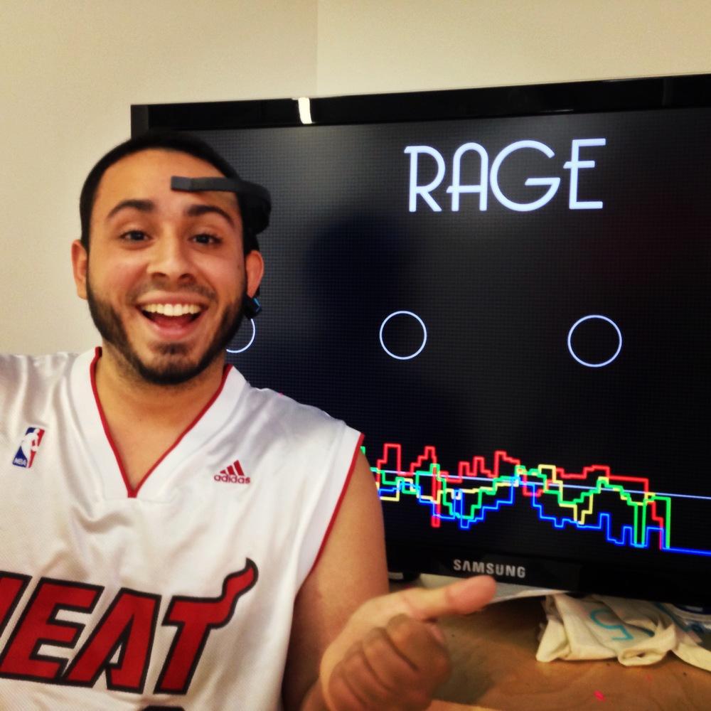 """Winner: Luis Emotion: Rage Strategy: """"My cheating ex-girlfriend"""""""