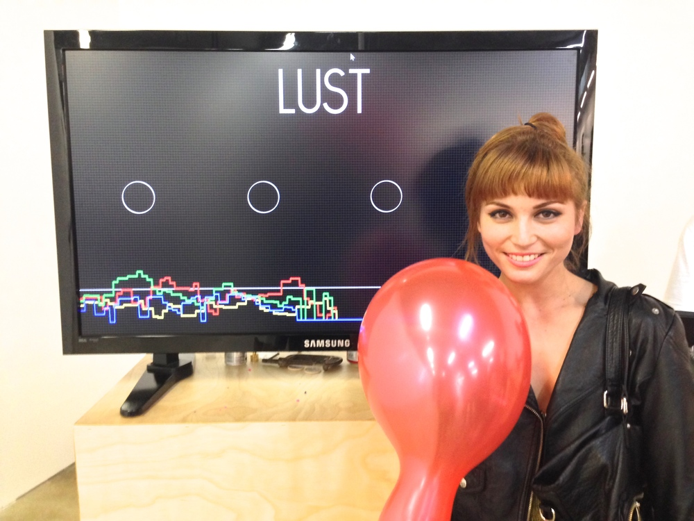 "Winner: Daniela  Emotion: Lust  Strategy: "";)"""