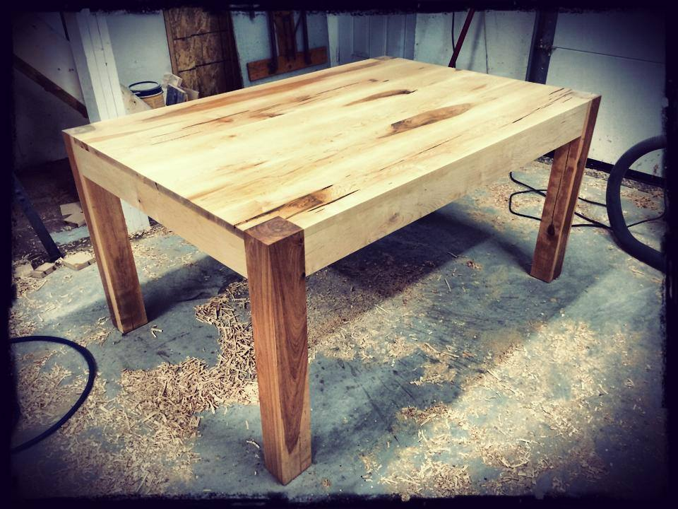 Table en Érable