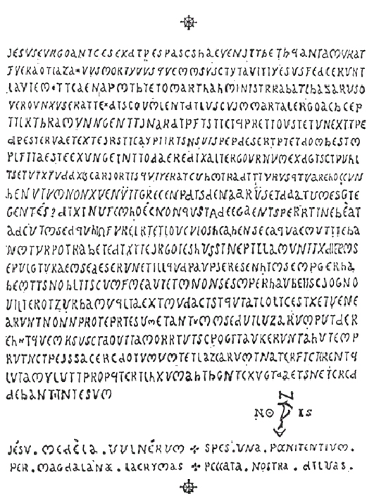 This code was deemed uncrackable by British Intelligence ... unless you have the key.