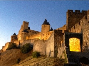 Medieval walled Cité of Carcassonne