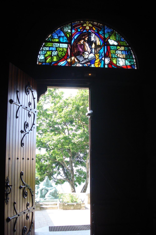 Ste. Baume, France - Mary Magdalene Grotto Door.jpg