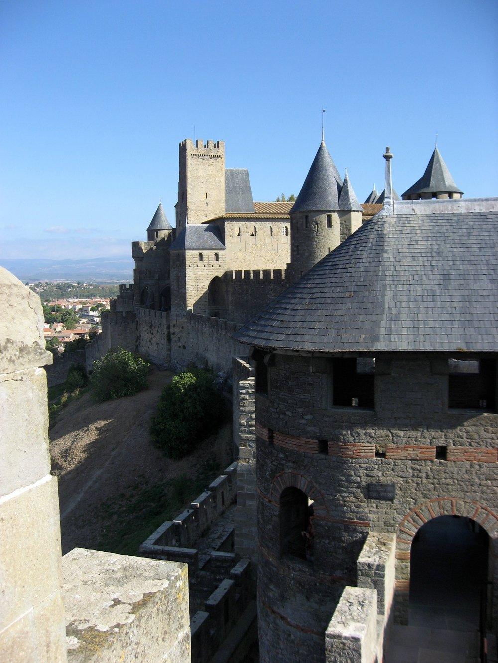 Carcassonne, France - Château Comtal 5.jpg