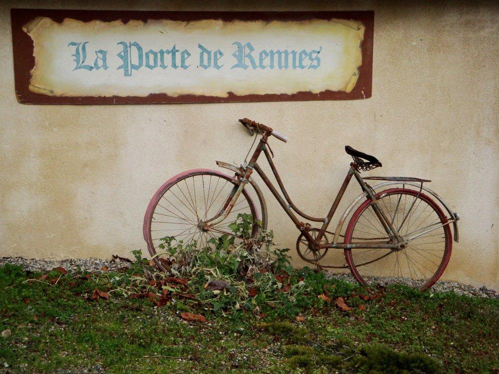 Rennes-le-Château, France -Porte de Rennes Bicycle.jpg