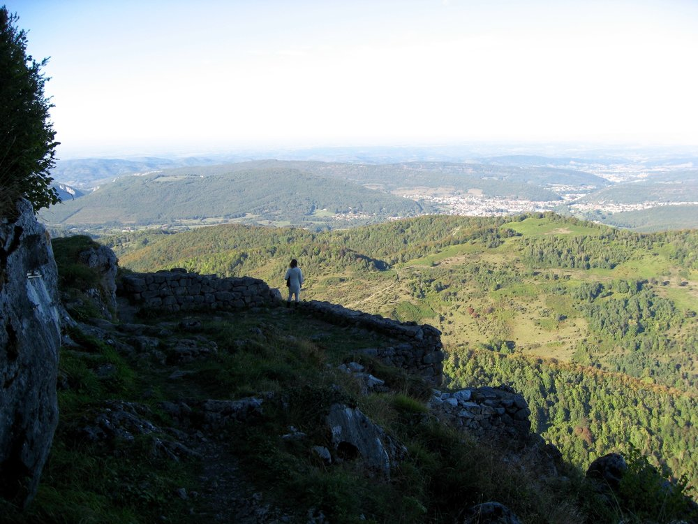 Montségur, France - Cameran at the Edge of the World.jpg