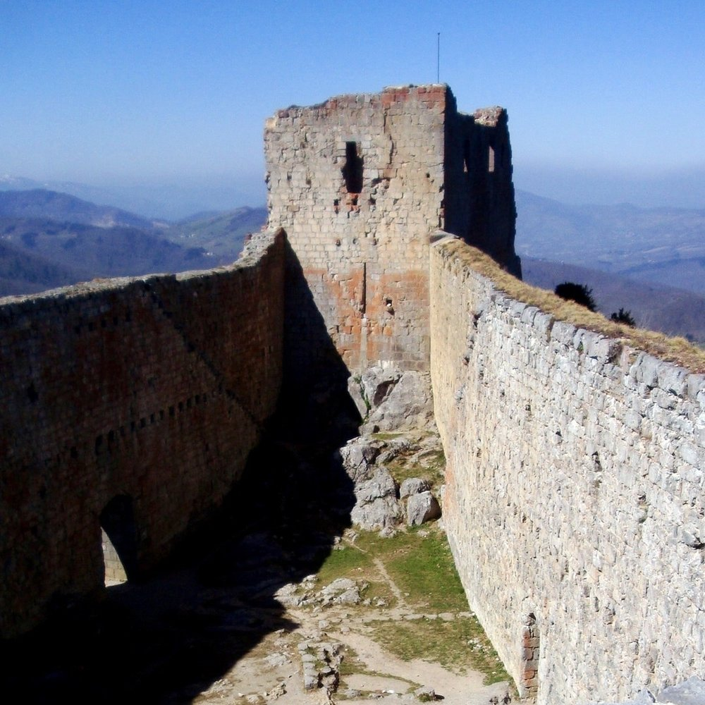 "The ""Cathar Castle"" of Montségur"