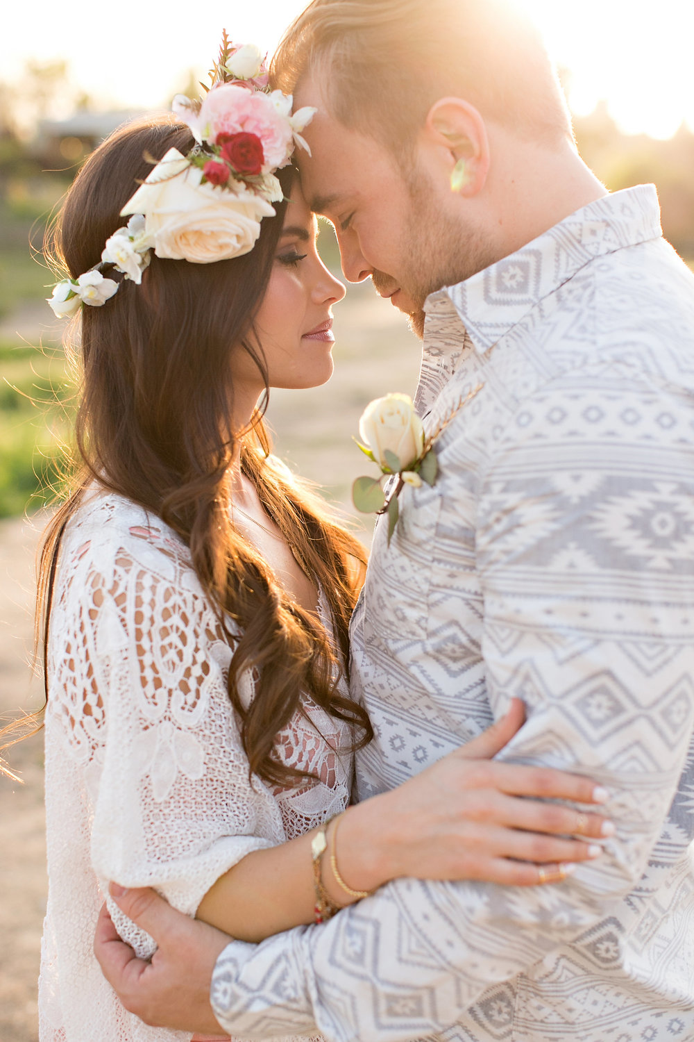 Rustic Bohemian Styled Shoot - Stacee Lianna Photography - Southern California Bride Magazine Feature