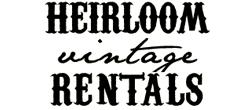 heirloom vintage rentals