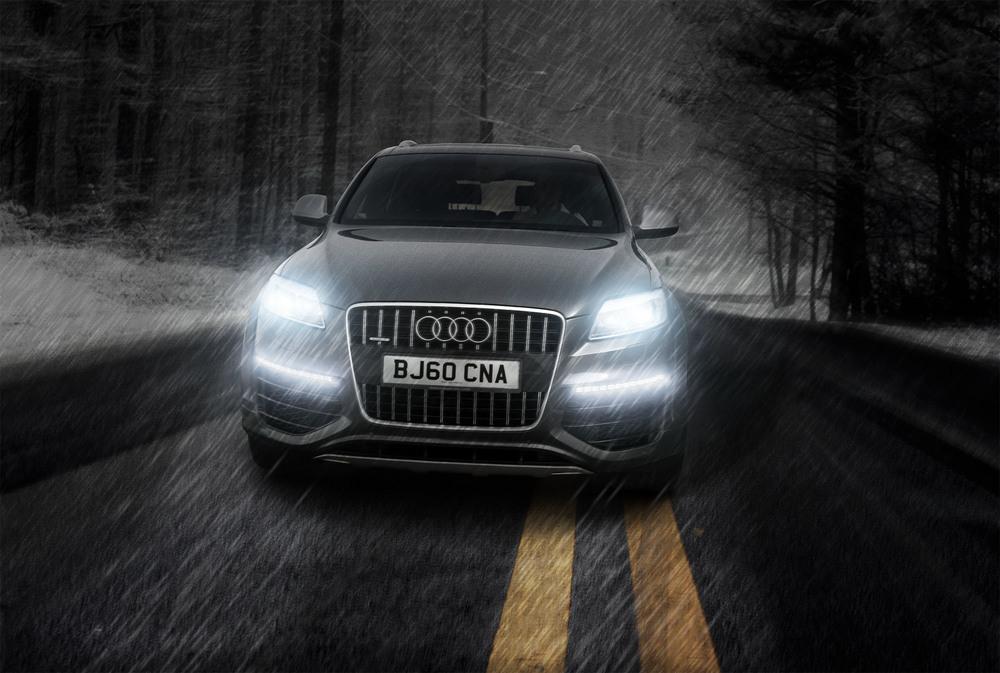 Brand: Audi  Agency: Portfolio Piece