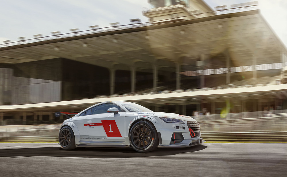 Brand: Audi    Agency: Raid    Photography: Darren Woolway
