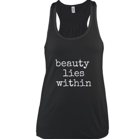 Get your shirt: beauty lies within!