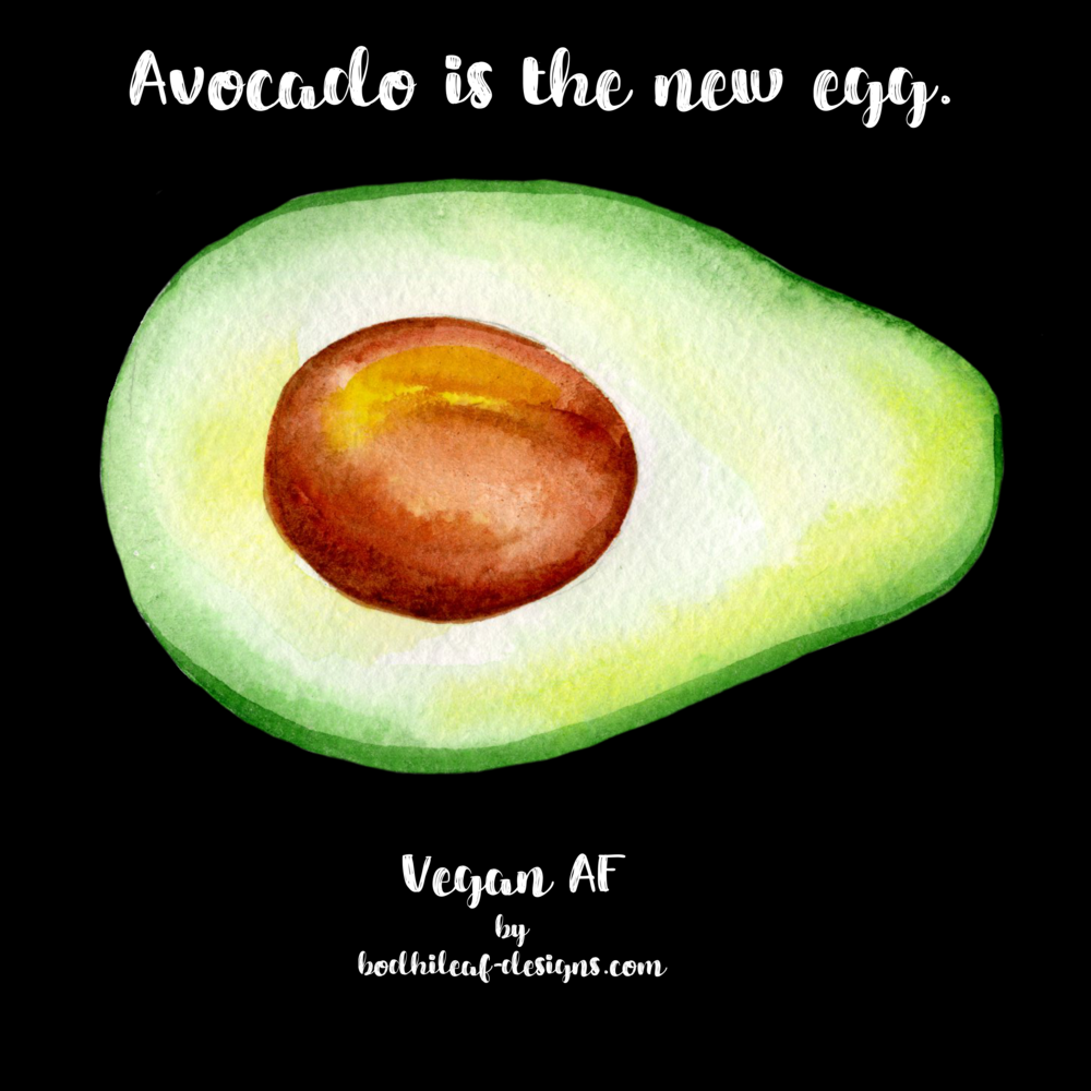 Avocado is the new egg.