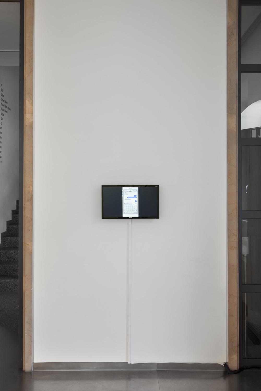 Exhibition view Eugen Gomringer &, Bielefelder Kunstverein, 2015, photo: Philipp Ottendîrfer