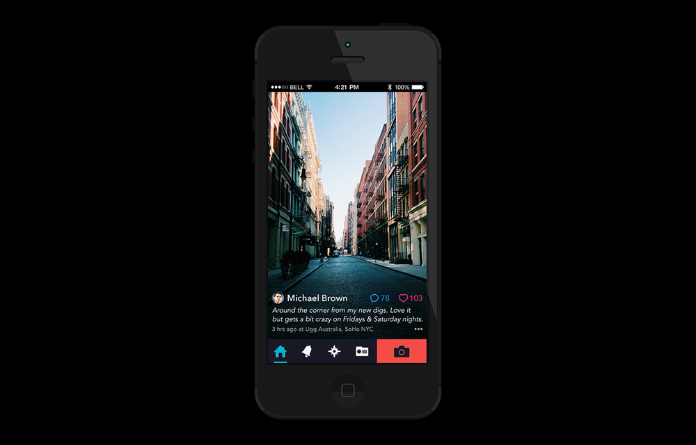 Private Photo Sharing App