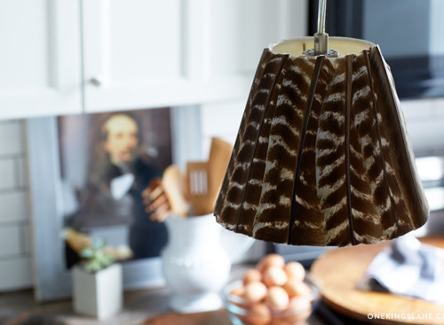 Diy turkey feather lampshade alloway electric inc thanksgiving is coming up do you have a hunter in the family is it a family tradition to go turkey hunting here is a great diy turkey feather lamp that aloadofball Image collections