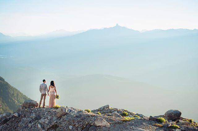 I don't usually put up images that aren't mine but I can't bare the thought of not sharing this one. @andywickstrom blew us away with the photos from our wedding up in Squamish. So happy he was able to come out and share the day with @rupal512 and me. #climbingwedding #helicopterrides 📷 @andywickstrom