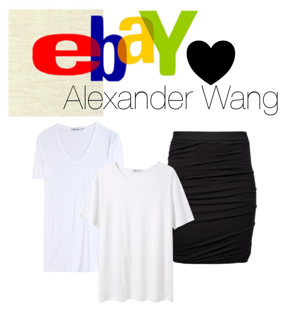 Mine beste kjøp fra Ebay er basics fra T by Alexander Wang. Her har jeg spart hundrelapper på twist skjørt og deilige tskjorter. Kvalitetsplagg som varer i en evighet fordi du blir ekstra glade i dem og fordi dem kan brukes til alt.