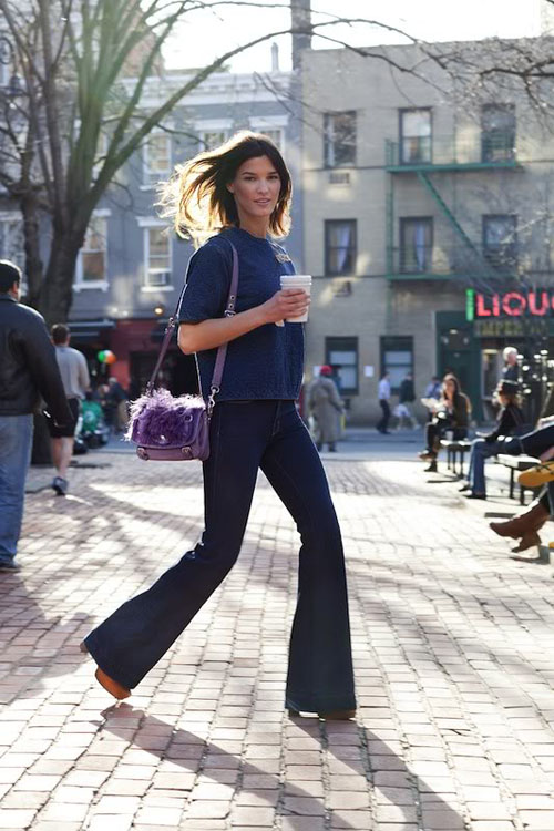 The flare jeans
