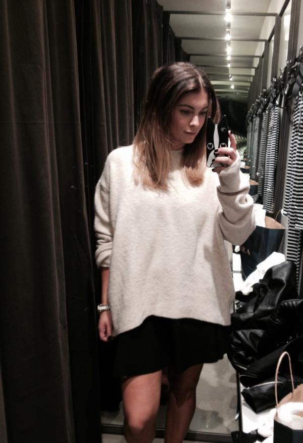 Beige sweater – Zara
