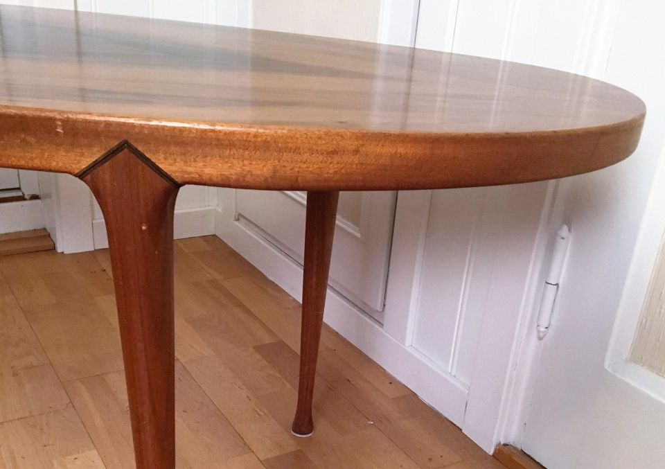 Beautiful teak table in a retro style