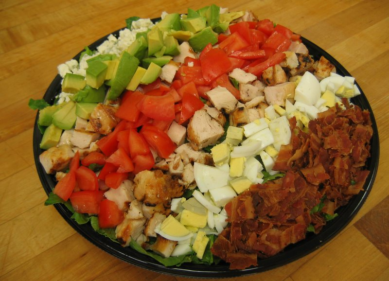 Chopped Cobb Salad for Catering