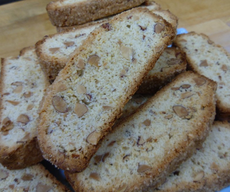 Lemon Almond Biscotti