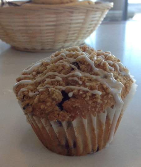 Blueberry Crunch Muffin