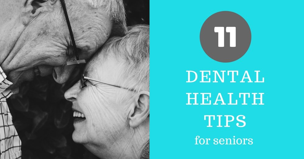 11 dental health tips for seniors