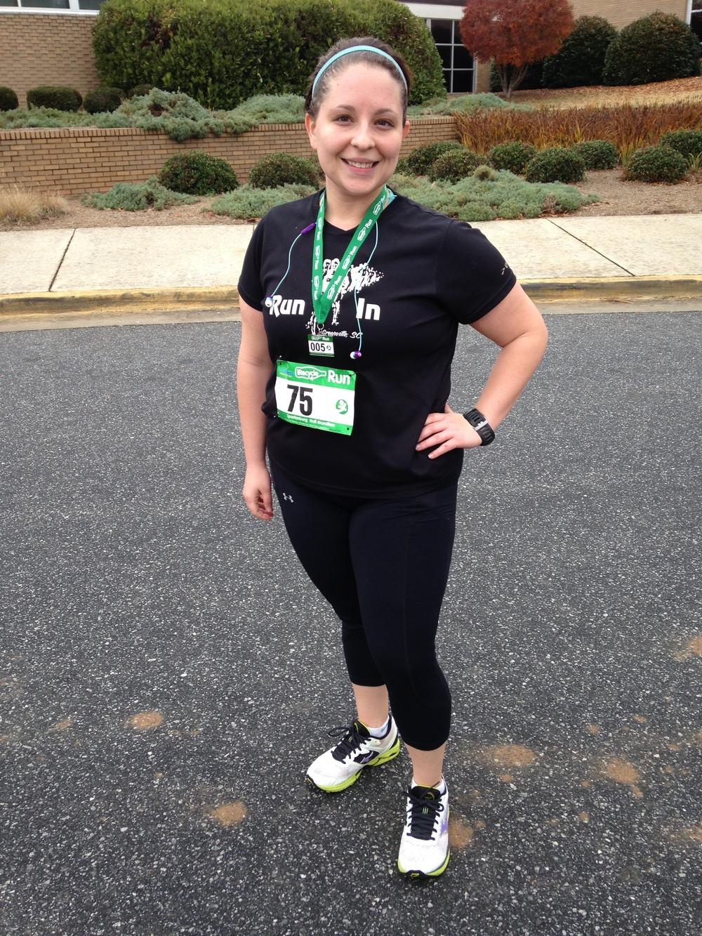 Half Marathon success!