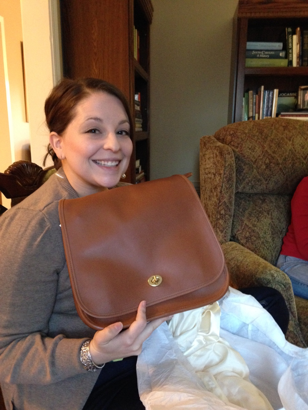 Favorite gift this season - a Coach bag! It's practically perfect in  every  way!