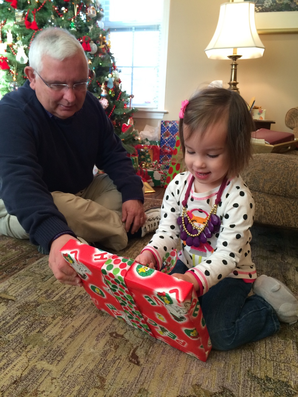 There's just something so fun and exciting about Christmas through the eyes of a child, no?