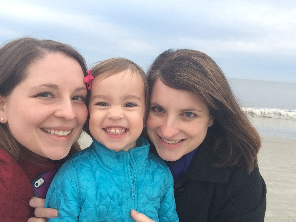 Beach walks are also a must. These girls are my favorites!