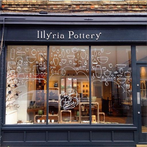 As you can see, the shop is called Illyria Pottery. You can find more  here .