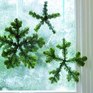 Fragrant Fir Snowflakes