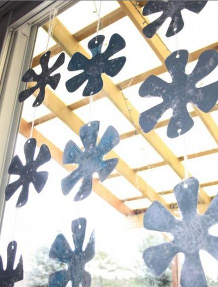Stamped Snowflakes