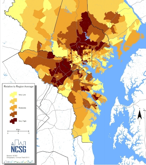 Baltimore's Opportunity Map. Image: NCSG