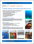 JASCO Applied Sciences Company Brochure thumbnail