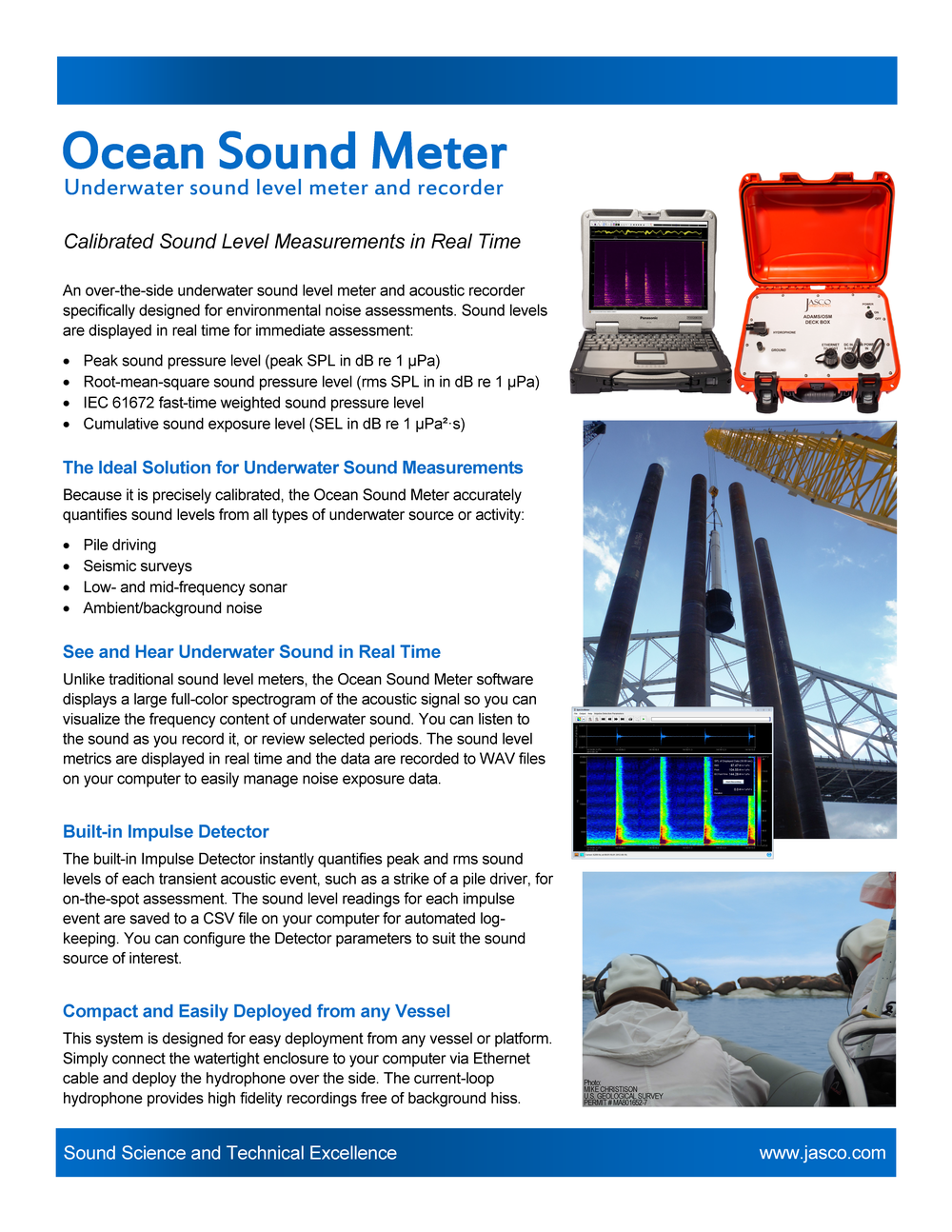 Ocean Sound Meter (OSM) Letter size (PDF) A4 size (PDF)