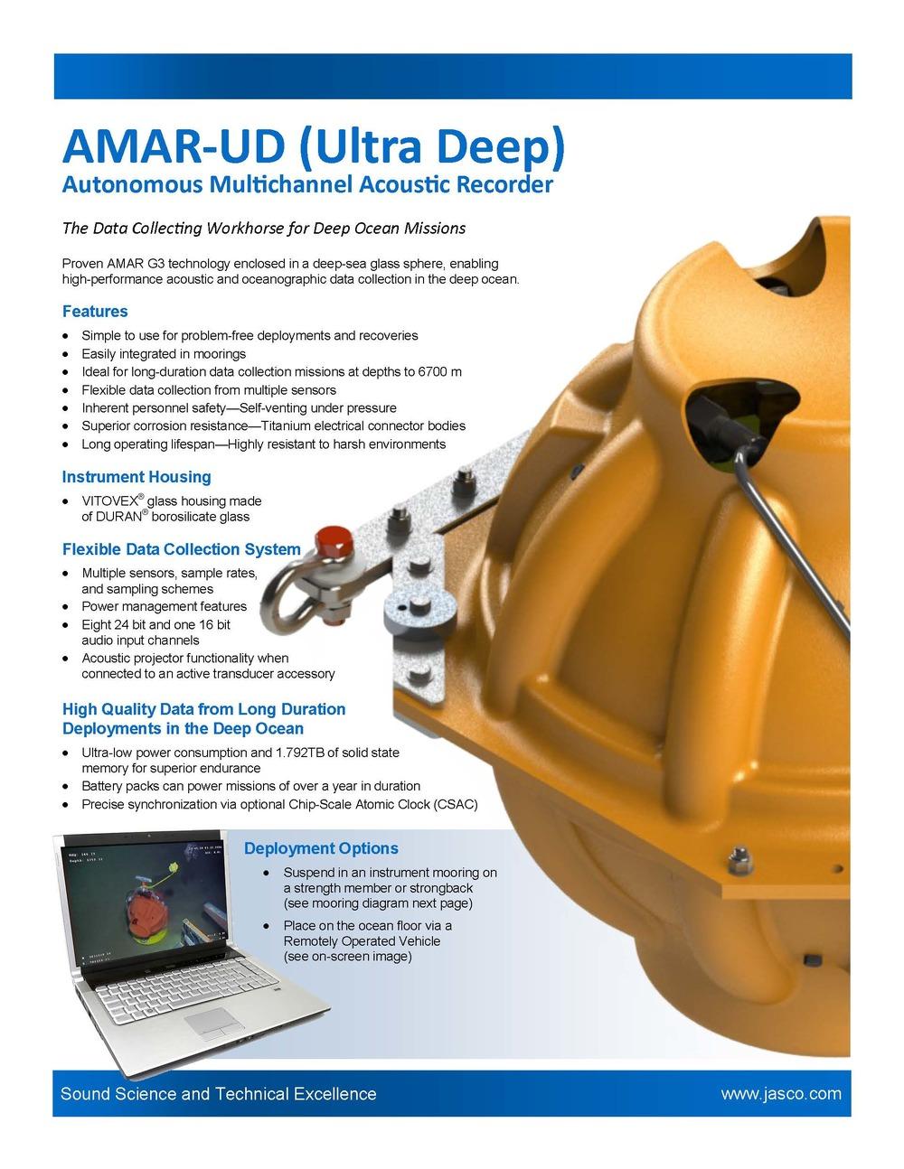 AMAR Ultra Deep (AMAR-UD) Letter size (PDF)  A4 size (PDF)