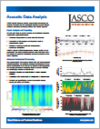 JASCO Applied Sciences Data Analysis Brochure thumbnail