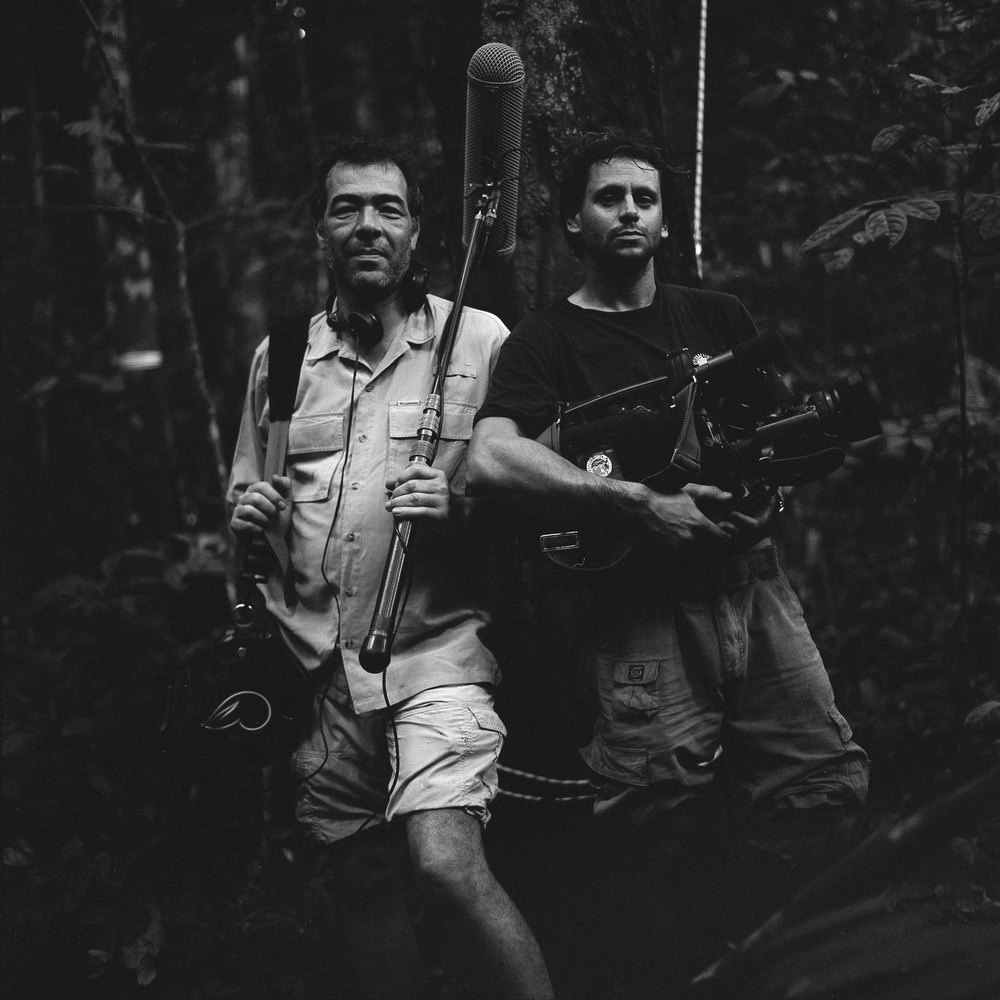 Eric Munch & Yanick Gentil  Production still, Gabon, 'Once Upon a Forest'