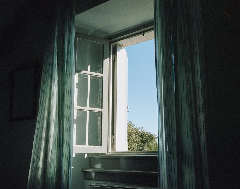 My Greek window  Greece