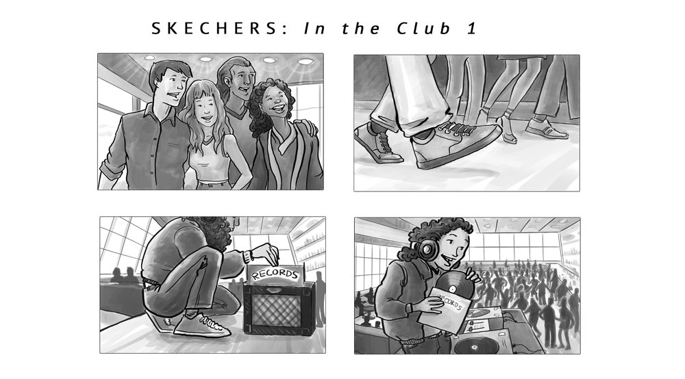 SKECHERS: VIP in the Club