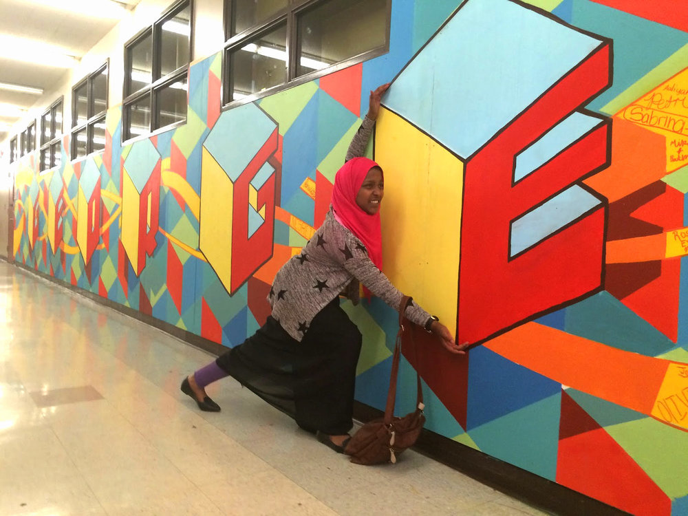 Once the mural is complete, it will stand as a visual reminder of what we can accomplish together.
