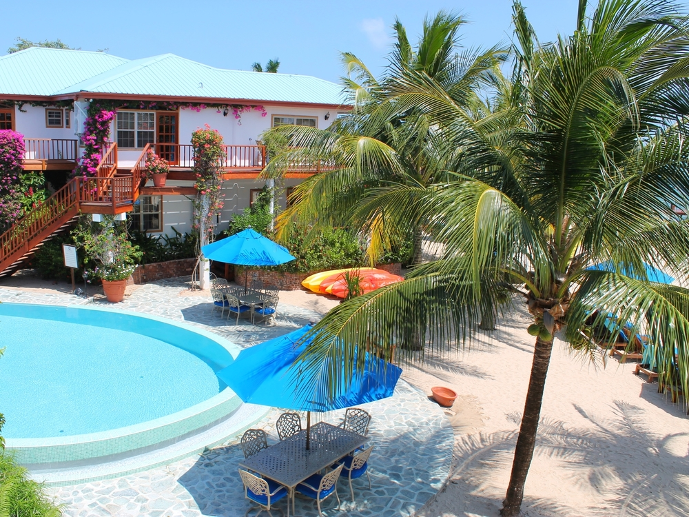 The Chabil Mar Villas offer refined comforts in a gorgeous garden setting right on the beach