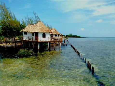 The Overwater Bungalows at Thatch Caye