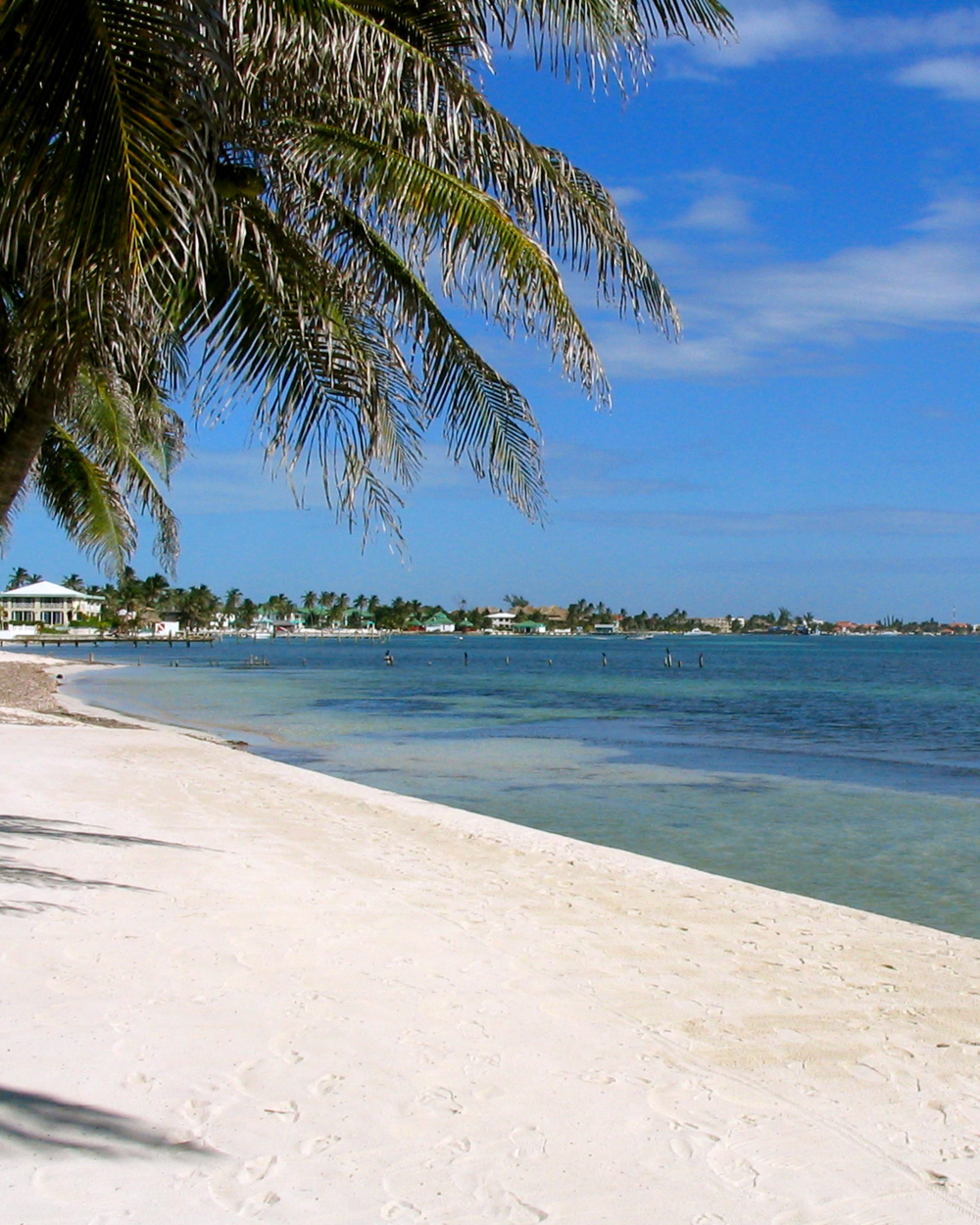 Inviting Island Resorts and lively beach bars dot the coast line extending north and south from San Pedro Town on Ambergris Caye