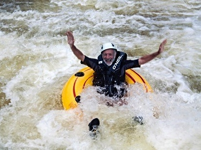 Tubing on the Macal River at Black Rock Lodge