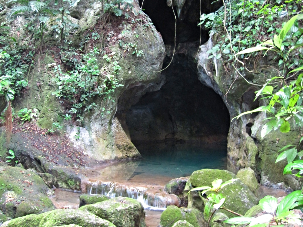 The entrance to world famous ATM Cave - Actun Tunichil Muknal